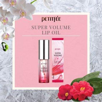Ухаживающее масло с эффектом объемных губ Petitfee Super Volume Lip Oil 3 г (8809508850382)