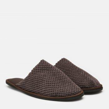Комнатные тапочки FX shoes Дорис 18001 Коричневые