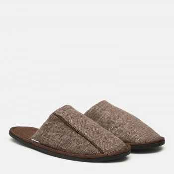 Комнатные тапочки FX shoes Портленд 19004 Коричневые