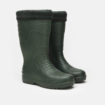Гумові чоботи Kolmax Long 064 Темно-зелені