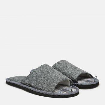 Комнатные тапочки FX shoes 18034 Серые