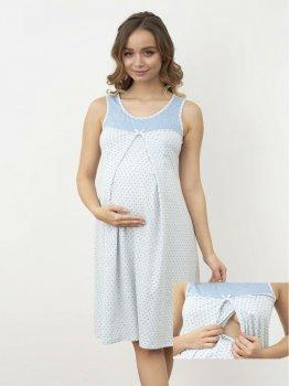 Ночная рубашка Roksana 1170 Светло-голубая