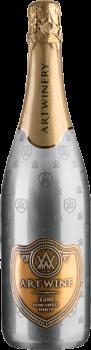 Вино ігристе Artwine біле напівсолодке 36 місяців 0.75 л 10-13.5% (4820176061942)