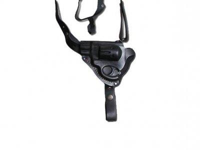 Кобура Grizzly оперативна Револьвер 3 формована (шкіра, чорна)
