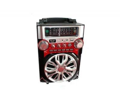 Мобильная акустическая система AMC RX-2099 Черный/Красный (3716)
