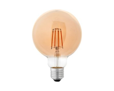 Лампа світлодіодна G95 6W 2700K 220В E27 filament