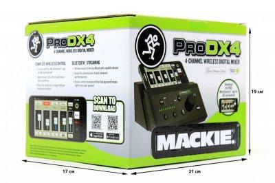 Цифровий 4-х канальний мікшер Mackie PRODX4