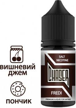 Рідина для електронних сигарет Chaser Salt Fredi (Пончик + вишня + глазур)