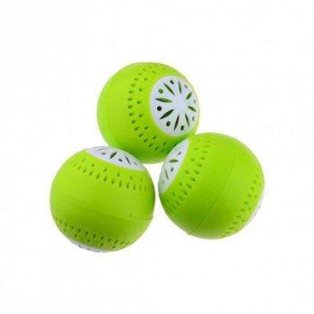 Поглотитель для устранения запаха в холодильник анти запах в форме шарика набор 3 шт (NJ-194)