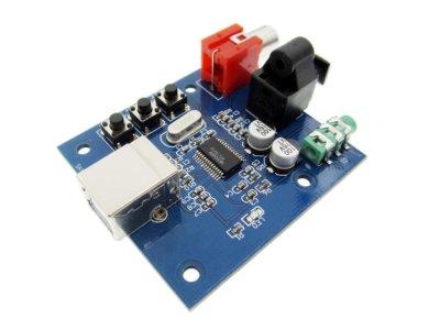 Звуковая карта Digital PCM2704 ЦАП USB (1003-900-00)