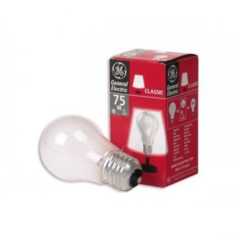 Лампа розжарювання 75А1/F/230V E27 матова GE Угорщина