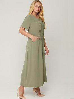 Платье All Posa Селия 100013 Оливковое