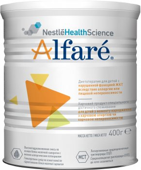 Суха молочна суміш Nestle Alfare 400 г (12317674)