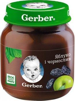 Фруктове пюре Gerber яблуко і чорнослив 130 г (12309152)