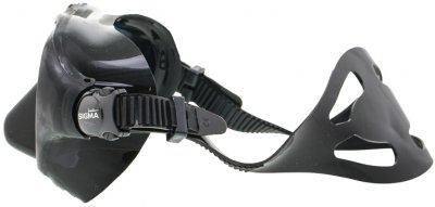 Маска Marlin Sigma с просветленными стеклами Black (013638)