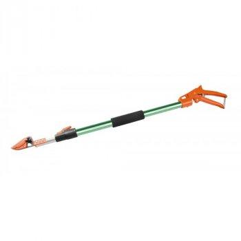 Секатор штанговый ПРОФИ MasterTool GM, пистолетный телескопический 0,8 - 1,2 м, алюминиевая ручка, Арт.: 14-6908