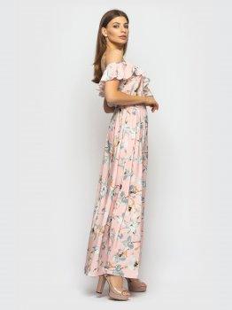 Плаття Santali 4113-1 Рожеве