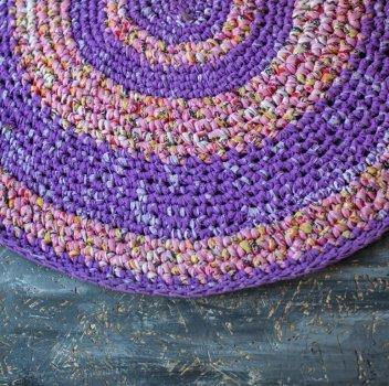 Килимок на підлогу Vividzone фіолетовий