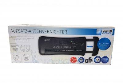 Шредер чорний K01-110700