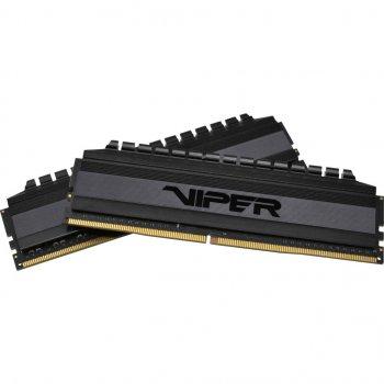 Модуль пам'яті для комп'ютера DDR4 16GB (2x8GB) 3200 MHz Viper 4 Blackout Patriot (PVB416G320C6K)