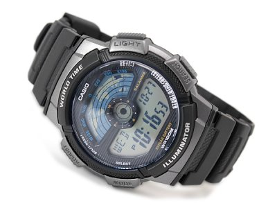 Чоловічі годинники Casio AE-1100W-1AVEF
