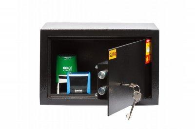 Мебельный сейф GUTE ЯМХ 20К Черный (07024)