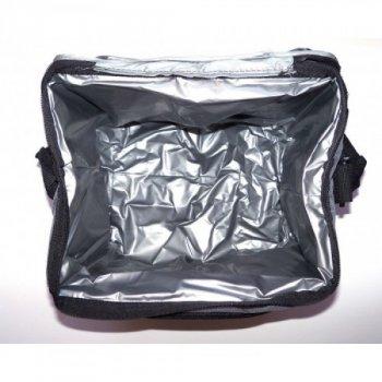 Компактна похідна термосумка-холодильник Sannen Cooler Bag Classic 42 л Синій з сірим (00001227)