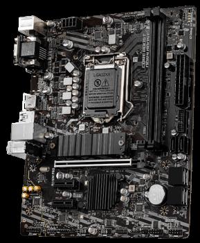 Материнська плата MSI B460M Pro (s1200, Intel B460, PCI-Ex16)