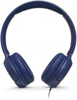 Навушники JBL T500 Blue (JBLT500BLU)