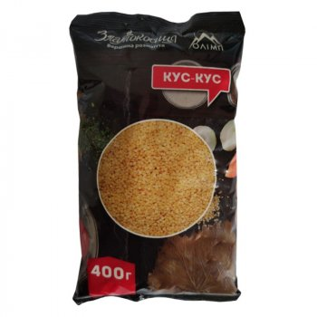 Кус-кус Олімп для страви Златокосиця крупа пшенична 400г (4820055940955)