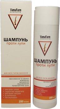 Упаковка шампуню VamaFarm Проти лупи з кетоконазолом 2 шт. х 250 мл (4820220810656-2)