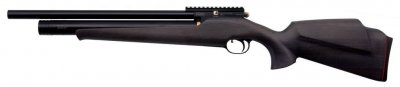 Пневматична гвинтівка ZBROIA PCP ХОРТИЦЯ 550/220 4,5 мм (чорний/чорний)
