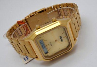Мужские часы Skmei 1210 Gold (0379)