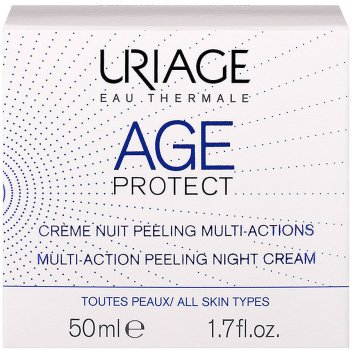 Ночной крем-пилинг Uriage Age Protect Multi-Action Peeling Night Отшелушивающий 50 мл (3661434006456)