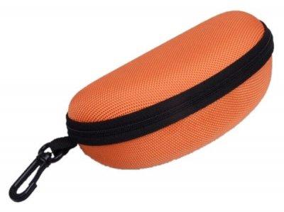 Твердый оранжевый футляр для очков Cintura 00162