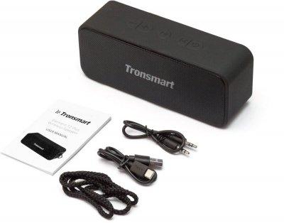 Портативна акустика Tronsmart Element T2 Plus 20 Вт Black
