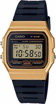 Чоловічі годинники Casio F-91WM-9AEF