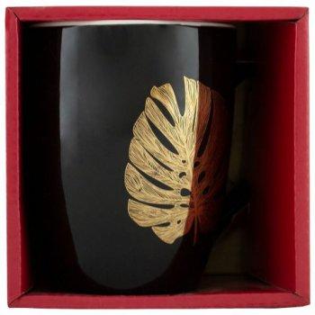 Чашка Keramia Golden leaf 360 мл (21-279-066)