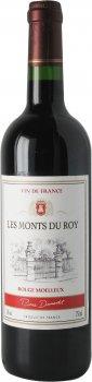 Вино Les Monts du Roy Pierre Dumontet Rouge Moelleux красное полусладкое 0.75 л 11% (3176481022927)