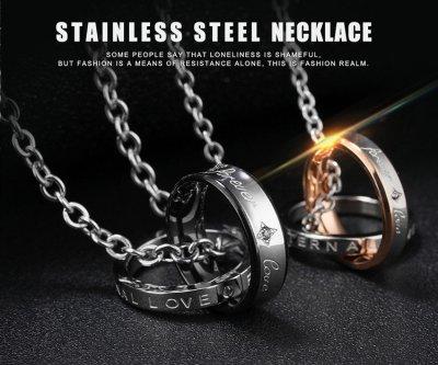 """Парные кулоны для влюбленных Steel Way """"Притяжение"""""""