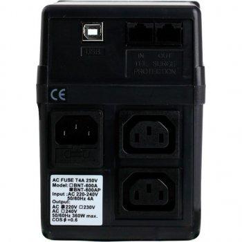 Джерело безперебійного живлення BNT-600 AP, USB Powercom (BNT-600 AP USB)