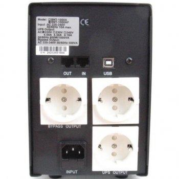 Джерело безперебійного живлення BNT-1000 AP USB Powercom (BNT-1000 AP USB Schuko)