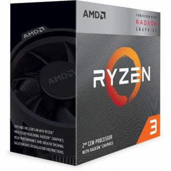 Процессор AMD Ryzen 3 3200G 3.6GHz/4MB (YD3200C5FHBOX)