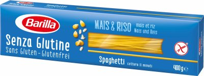 Макароны Barilla Спагетти №5 без глютена 400 г (8076809545440)