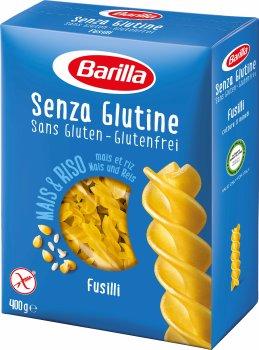Макароны Barilla Fusilli Фузилли без глютена 400 г (8076809545464)