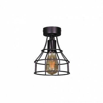Стельовий світильник Лофт Skarlat Дріт фігурна Чорний d - 160 mm (LS 1216-1G)