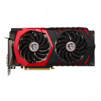Відеокарта Msi Pci-Ex Geforce Gtx 1060 Gaming X 6Gb Gddr5 (192Bit) (1569/8008) (Dvi, Hdmi, 3 X Displayport) (Gtx 1060 Gaming X 6G)