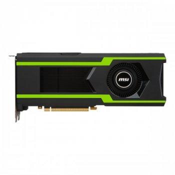 Видеокарта Msi Pci-Ex Geforce Gtx 1080 Ti Aero Oc 11Gb Gddr5X (352Bit) (1506/11016) (Hdmi, 3 X Displayport) (Gtx 1080 Ti Aero 11G Oc)