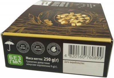Сахар коричневый Саркара продукт Демерара нерафинированный прессованный 250 г (4820160760899_1)
