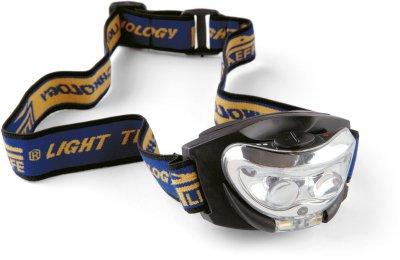 Ліхтарик налобний Lineaeffe 2LED з лінзою + функція нічного бачення (7599305)